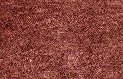 Superficie del fieltro del color rojo Foto de archivo