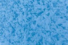 Superficie del fiume congelato di Zanskar nell'inverno fotografia stock libera da diritti