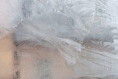 Superficie del ghiaccio Fotografia Stock