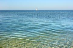 Superficie del mar tranquilo Imágenes de archivo libres de regalías