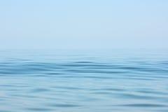 Superficie del mar tranquilo Fotos de archivo libres de regalías