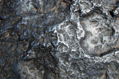 Superficie del meteorito de Hoba fotos de archivo libres de regalías
