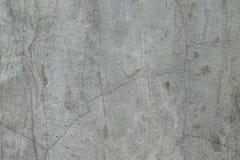 Superficie del muro de cemento con la grieta Imagen de archivo