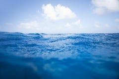 Superficie del océano Foto de archivo libre de regalías