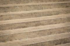Superficie del passaggio pedonale o della scala fatta di ghiaia Fotografia Stock
