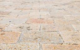 Superficie del pavimento Imagen de archivo libre de regalías