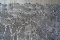 Superficie del pettine del muro di cemento fotografia stock