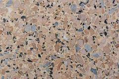 Superficie del piatto del materiale composito della pietra di terrazzo immagine stock libera da diritti