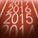 Superficie 2015 del tartán Imagen de archivo libre de regalías