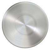 Superficie dell'acciaio inossidabile del cerchio Fotografia Stock Libera da Diritti