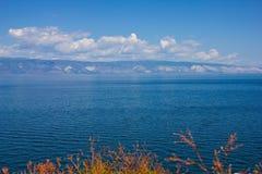 Superficie dell'acqua blu Immagini Stock Libere da Diritti