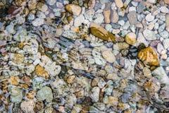 Superficie dell'acqua dell'oceano con il fondo Fotografie Stock Libere da Diritti