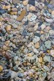 Superficie dell'acqua dell'oceano con il fondo Fotografia Stock Libera da Diritti