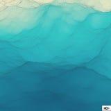 Superficie dell'acqua Fondo ondulato di griglia mosaico Fotografie Stock Libere da Diritti