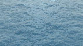 Superficie dell'oceano stock footage