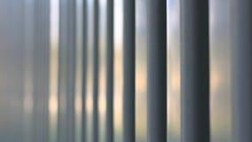 Superficie della lamina di metallo trapezoidale Immagini Stock
