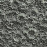 Superficie della luna Fotografie Stock Libere da Diritti
