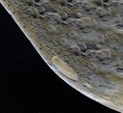 Superficie della luna 3d realistici rendono della luna e dello spazio Spazio e pianeta satellite necropolis Stelle Elementi di qu royalty illustrazione gratis
