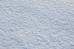 Superficie della neve Immagini Stock