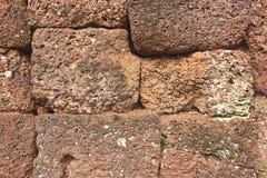 Superficie della parete di pietra Fotografia Stock