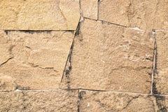 Superficie della parete di pietra, strutturata di granito per fondo, carta da parati Fotografie Stock