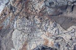 Superficie della roccia Immagine Stock
