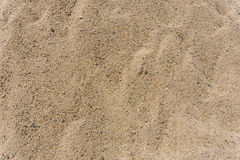 Superficie della sabbia Immagini Stock Libere da Diritti