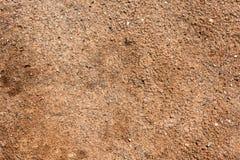 Superficie della sporcizia con le piccole pietre 9 Fotografia Stock Libera da Diritti