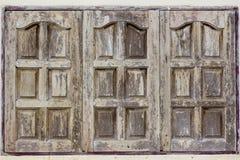 Superficie delle finestre da legno fotografia stock libera da diritti