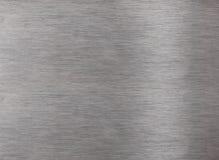 Superficie di alluminio Fotografia Stock