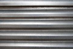 Superficie di alluminio incurvata Fotografie Stock