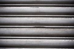 Superficie di alluminio incurvata Fotografia Stock Libera da Diritti