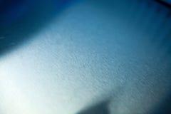 Superficie di alluminio spazzolata Immagine Stock