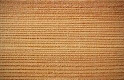 Superficie di legno del larice - linee orizzontali Immagini Stock