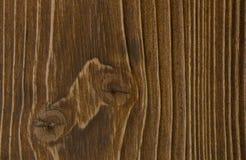 Superficie di legno di colore marrone Fotografie Stock