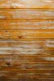 Superficie di legno dipinta unita con legami atomici incrociati con i bordi laccati Immagini Stock Libere da Diritti