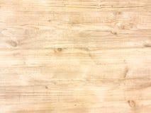 Superficie di legno leggera del fondo di struttura con il vecchio modello naturale o la vecchia vista di legno del piano d'appogg fotografia stock