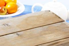 Superficie di legno vuota Fotografia Stock