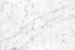 Superficie di marmo bianca della luce naturale di Carrara per il bagno o il kitch Immagini Stock