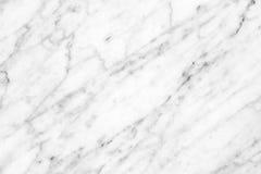 Superficie di marmo bianca della luce naturale di Carrara per il bagno o il kitch Immagine Stock
