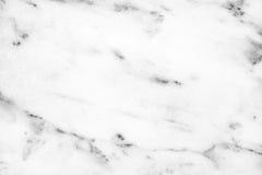 Superficie di marmo bianca della luce naturale di Carrara per il bagno o il kitch Immagine Stock Libera da Diritti