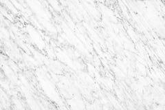 Superficie di marmo bianca della luce naturale di Carrara per il bagno o il kitch Fotografie Stock Libere da Diritti