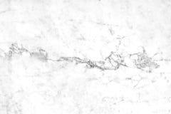 Superficie di marmo bianca della luce naturale di Carrara per il bagno o il kitch Fotografia Stock Libera da Diritti