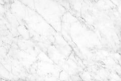 Superficie di marmo bianca della luce naturale di Carrara per il bagno o il kitch Immagini Stock Libere da Diritti