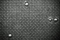 Superficie di metallo fotografie stock libere da diritti