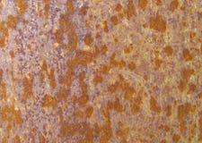 Superficie di metallo arrugginita Immagini Stock