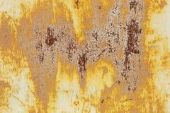 Superficie di metallo arrugginita Fotografia Stock