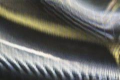 Superficie di metallo astratta Fotografie Stock