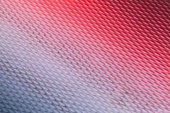Superficie di metallo astratta con il modello del diamante Fotografie Stock Libere da Diritti
