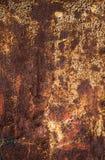 Superficie di metallo come modello di struttura del fondo Fotografia Stock